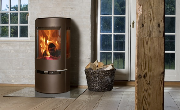 En brændeovn er den hyggeligste form for varme